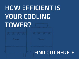 How efficient is your cooling tower?